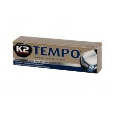 K2 TEMPO 120g   Восковая паста для полирования кузова