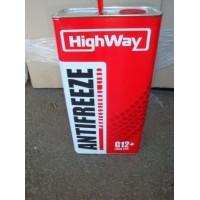 антифриз HIGHWAY G12 -40  (красный) 5л