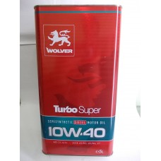Масло моторное Wolver Turbo Super 10W40 5L