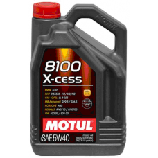 Масло MOTUL 8100 X-CESS SAE 5W40 (5L)