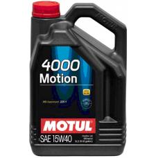 Масло MOTUL 4000 MOTION SAE 15W40 (5L)