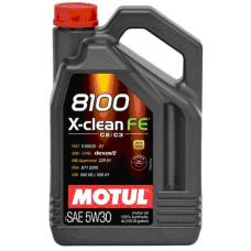 Масло MOTUL 8100X-CLEAN FE 5W30 4л